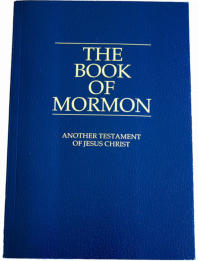 front cover of The Book of Mormon - a witness of Jesus Christ